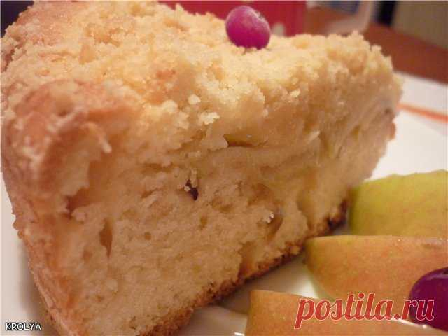 Кухен с яблоком (моя первая немецкая выпечка) пошаговый рецепт с фотографиями