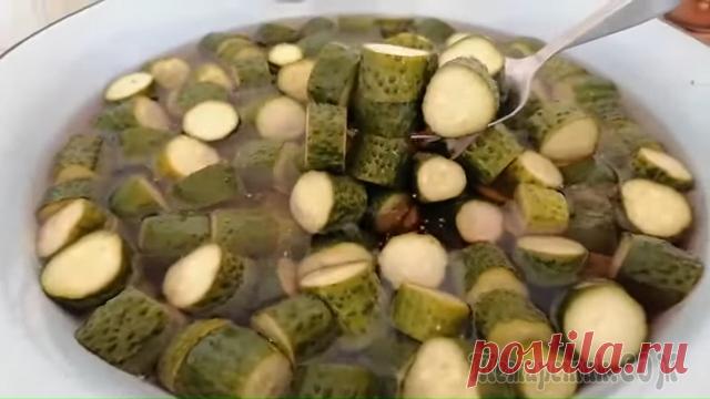 Огурчики по-фински - самая вкусная заготовка на зиму (готовлю тазами все лето)