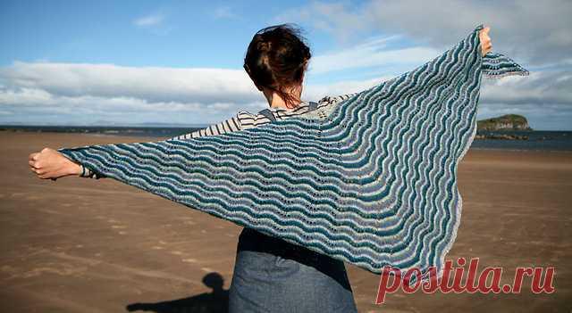 bressay hap shawl pattern