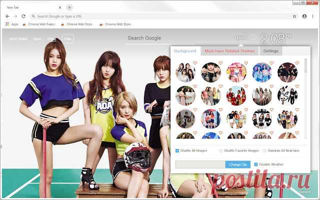 Kpop AOA HD Wallpapers New Tab Themes | HD Wallpapers & Backgrounds
