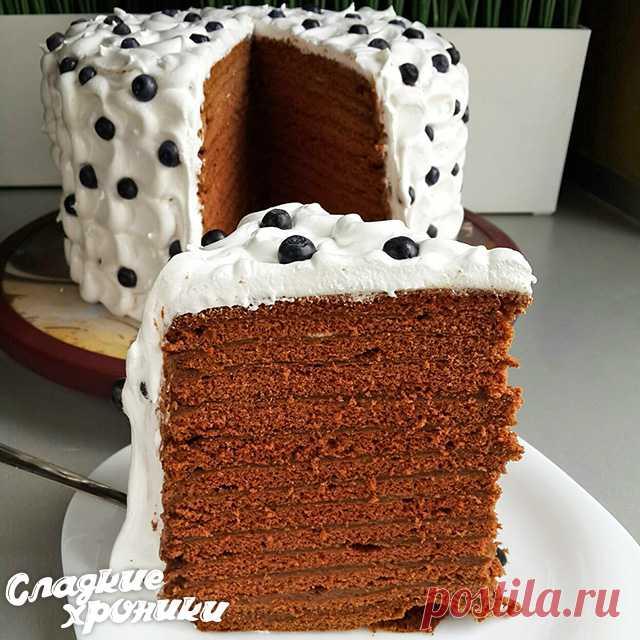 Шоколадный медовик: новый рецепт торта со сметанным или заварным кремом