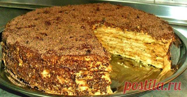 Классные рецепты: Торт «Микадо»
