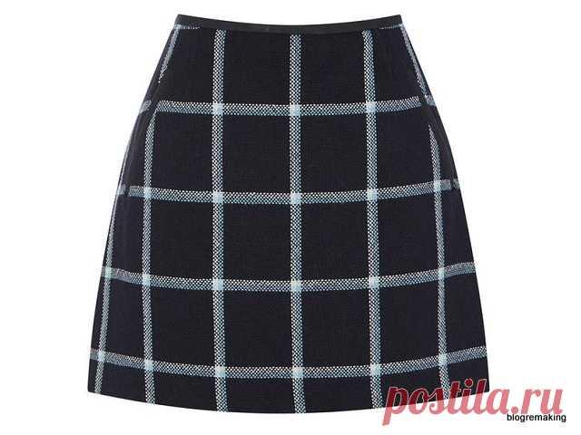 Выкройка юбки А-силуэта. Моделирование базовой выкройки прямой юбки | Blogremaking блог о шитье