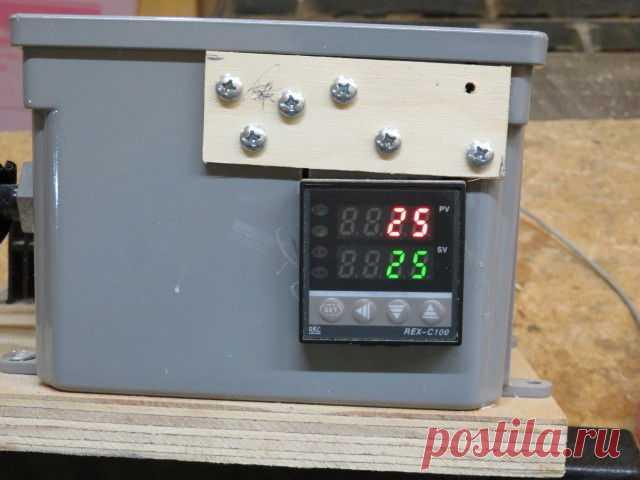 Электрическая коптильня холодного копчения из бочки