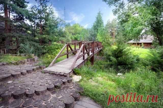 The site with a ravine – to refuse purchase or to try to beat? | Ideas of design (Огород.ru)