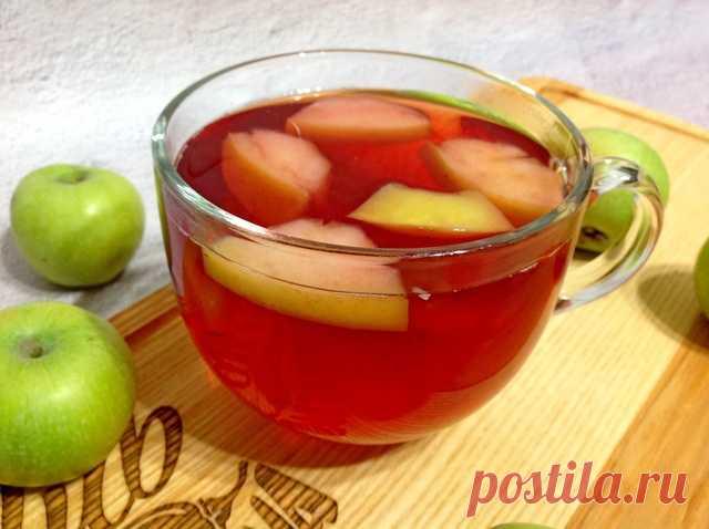 Яблочный чай по-турецки – пошаговый рецепт с фотографиями