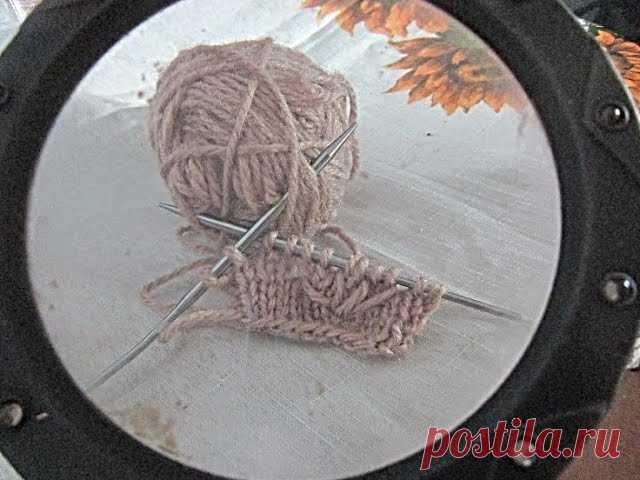 Новые петли в спицевых узорах. Видео МК | Вязание для женщин спицами. Схемы вязания спицами  В дополнение к моим прежним МК: