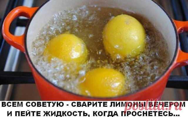 Сварите лимоны вечером и пейте жидкость, когда проснетесь… Вы будете потрясены результатами! - Образованная Сова