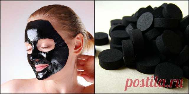 3 очищающие маски с активированным углем.  Через 2 недели от проблем не останется ни следа!