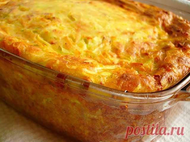 Готовим овощное блюдо: кабачковая запеканка..