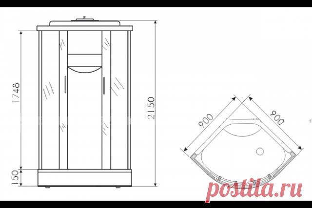 Как сделать душевую кабинку своими руками со сроком службы более 25 лет
