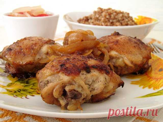 Куриные бедра со вкусом шашлыка!