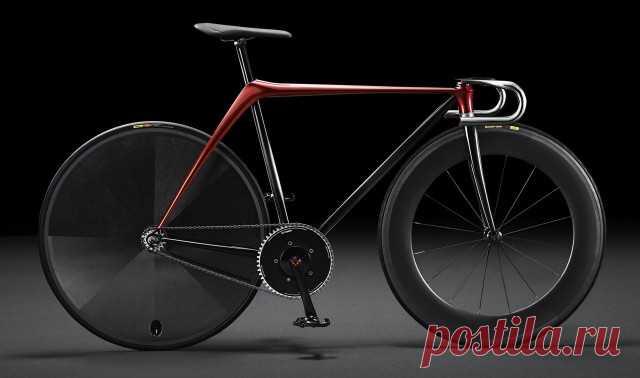Минималистский велосипед от... Mazda - AutoKontact