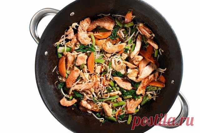 Куриные грудки по-монгольски | Вкусные рецепты