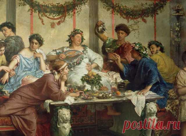 Что ели и пили древние римляне? - ЯПлакалъ