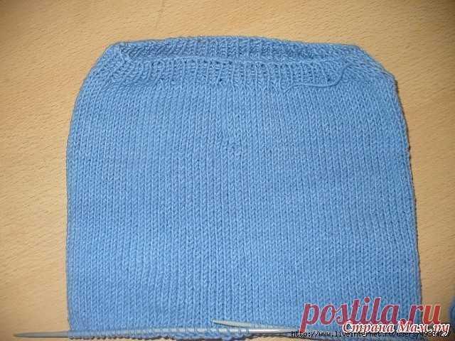 мк по вязанию бесшовных штанишек для малыша спицами автор Elena0609