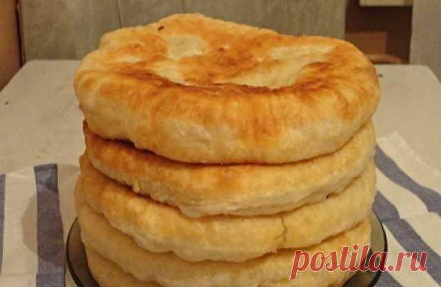 С этим рецептом забудешь, что такое хлеб! Пушистые лепешки на кефире: вкусно и быстро. — Хозяйские Советы