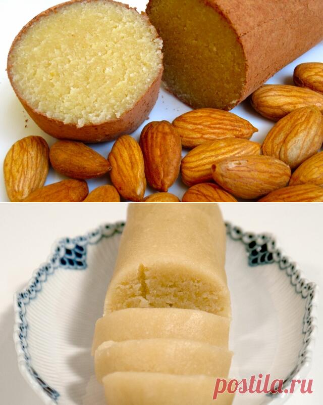 Марципан рецепт в домашних условиях для тортов фото