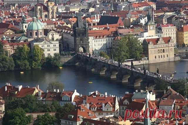 Живописная Прага-принцесса европейских городов.Часть 2.Карлов мост