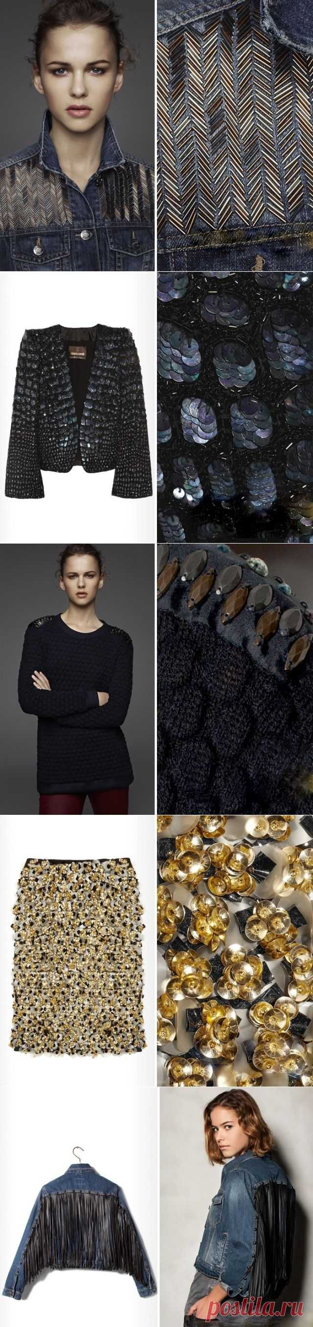"""""""Твид"""" из бисера, """"крокодил"""" - из пайеток и другие чудеса декора / Декор / Модный сайт о стильной переделке одежды и интерьера"""