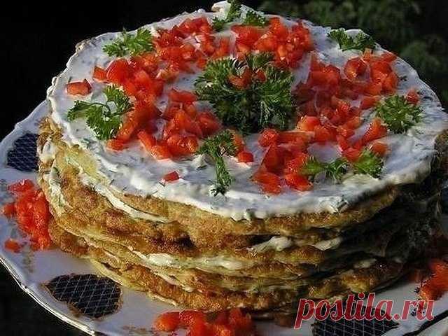 Как приготовить кабачковый торт  - рецепт, ингредиенты и фотографии