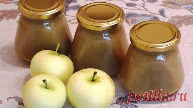 Яблочное пюре на зиму Быстро, вкусно, полезно! — ГАРМОНИЯ В СЕБЕ