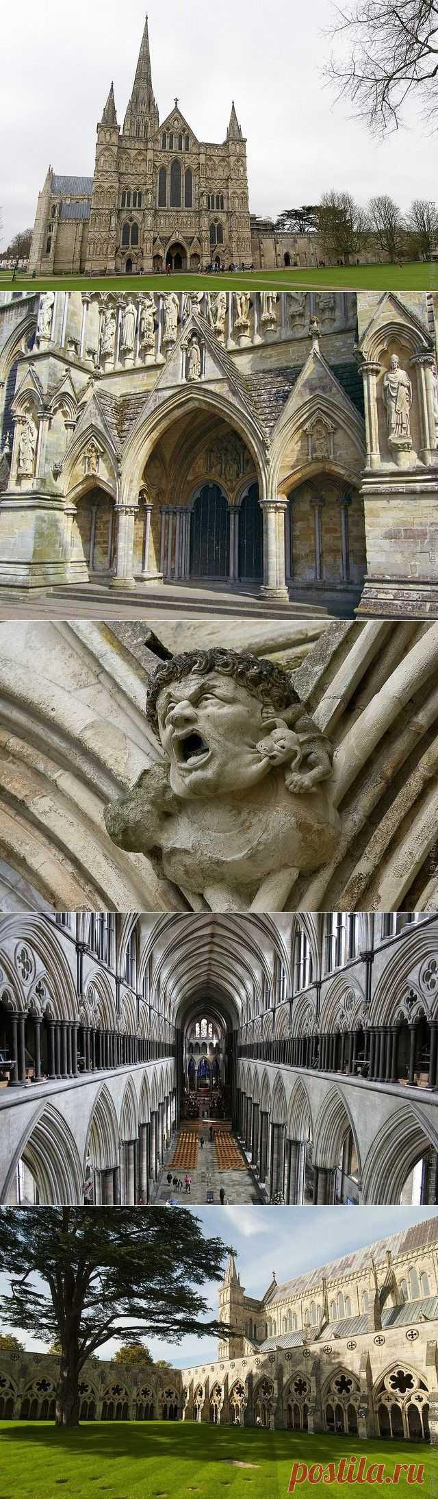 Солсберийский собор в Англии, фото и история собора