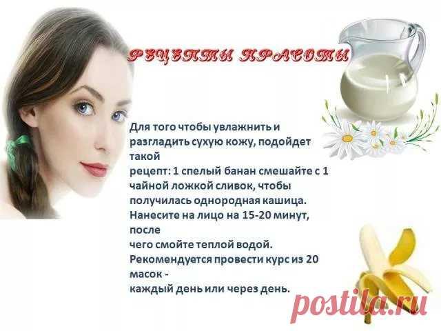 Рецепты красоты для лица в картинках