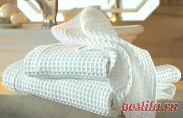 Как отбелить полотенца без кипячения — Полезные советы