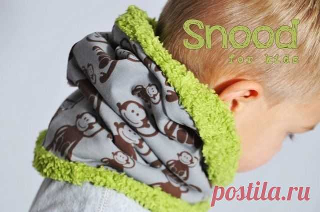 Шьем теплый детский снуд (Шитье и крой) – Журнал Вдохновение Рукодельницы