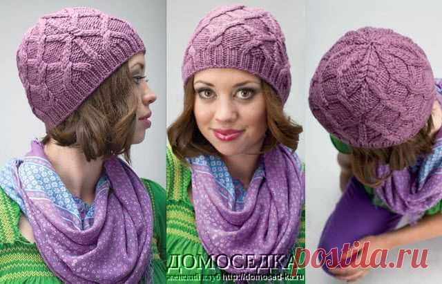 шапка с аранами от Megan Werdmuller von Elgg.