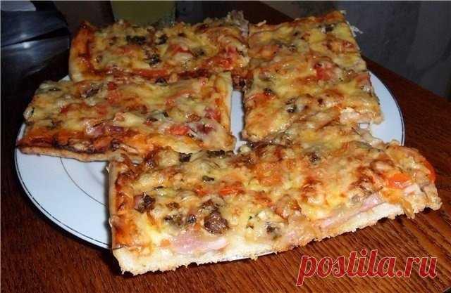 Как приготовить домашняя пицца - рецепт, ингредиенты и фотографии
