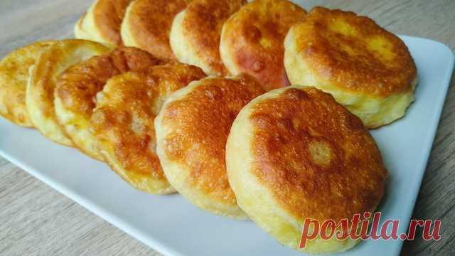 Пирожки на кефире без лепки – пошаговый рецепт с фотографиями