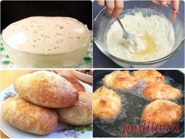 """Потратьте 5 минут и приготовьте это дрожжевое тесто. Готовить из него можно пирожки с любой начинкой, булочки, беляши, сосиски в тесте, пироги, пиццу... Тесто можно хранить в холодильнике до трех суток (не перекисает), можно замораживать. Даже если вы готовите тесто впервые - у вас получится!  Я хоть и люблю """"возиться"""" с тестом, но этот рецепт - просто находка! Времени на приготовление нужно всего пять минут. Хранить в холодильнике можно двое-трое суток. Тесто быстро не пе..."""
