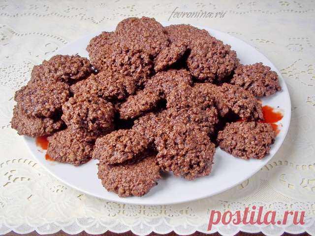 Цельнозерновое печенье с орехами Мягкое шоколадное печенье изфинских пшеничных хлопьев Nordic сорехами. Для любителей выпечки изздоровой муки. Сытное калорийное печенье назавтрак или для легкого перекуса.