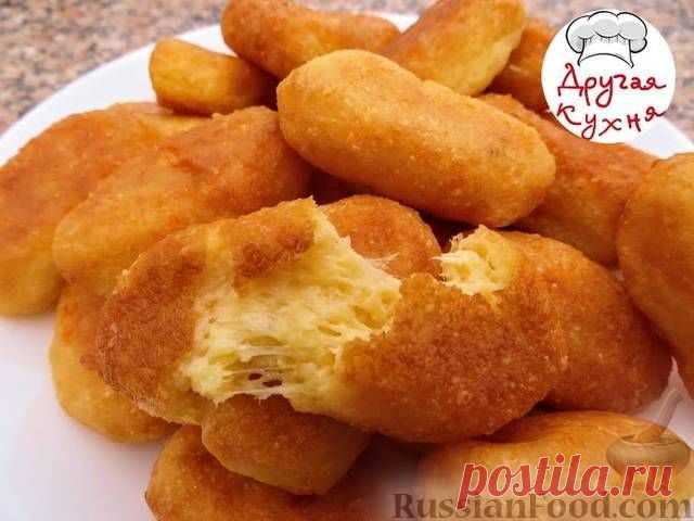 Recipe: House cheese sticks on RussianFood.com
