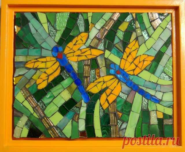 Dragonfly Mosaic Pattern (Page 5) - Line.17QQ.com