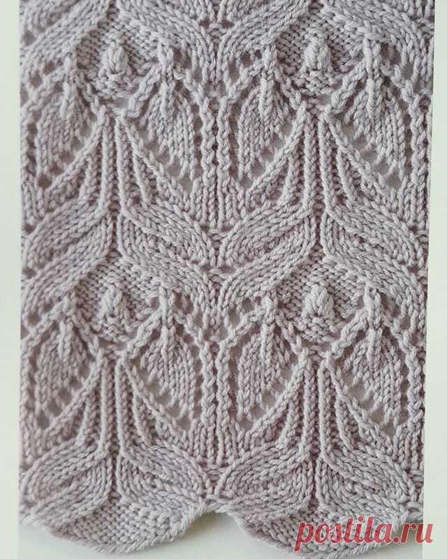 Рельефные узоры спицами. Образцы узоров для вязания на спицах   Домоводство для всей семьи.