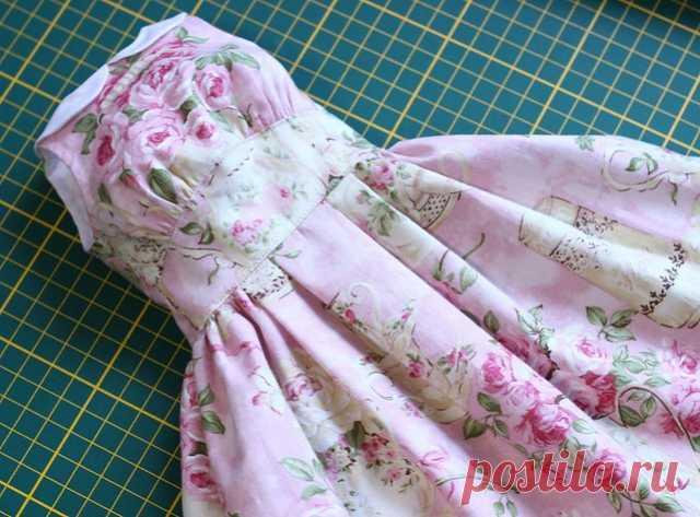 МК по пошиву нарядного платья и готовые выкройки для БЖД размера СД/СД13/СГ(новый)/nYID, средний бюст / Выкройки одежды для кукол-девушек / Бэйбики. Куклы фото. Одежда для кукол