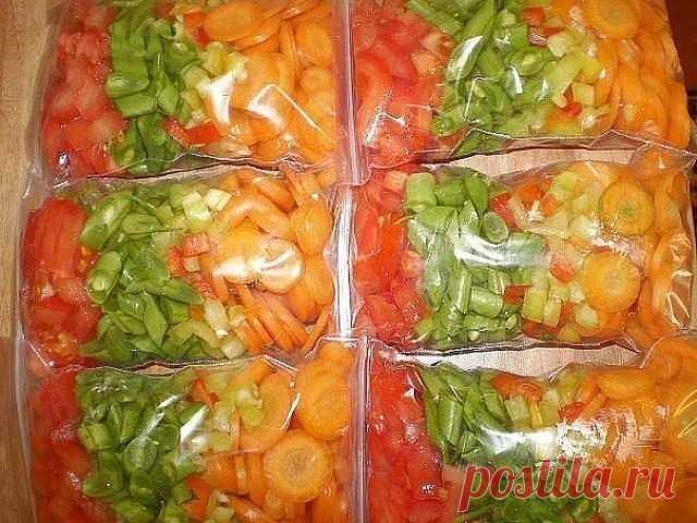 ЗАМОРОЗКИ НА ЗИМУ: ПОЛЕЗНЫЕ СОВЕТЫ  С появлением на моей кухне такого устройства, как морозилка, которая довольно внушительных размеров, моя семья всю зиму и весну, когда особенно не хватает витаминов, пьет компоты и ест десерты из натуральных ягод.  Замораживая самые разные продукты, я могу готовить вкусные блюда из овощей и грибов, делать десерты с взбитой клубникой, вареники из черники и еще много других блюд.  Это чудо техники у меня уже несколько лет, и все это время ...