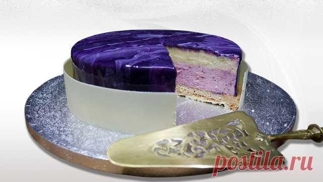 кухня БонАпп: Торт ванильный шибуст и ягодный мусс.