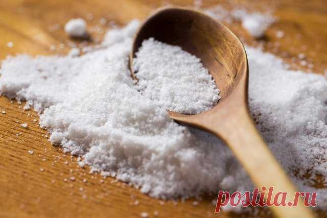 Поваренная соль на даче – необычные способы применения