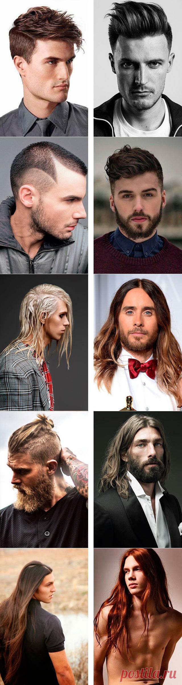 Модные стрижки мужские фото