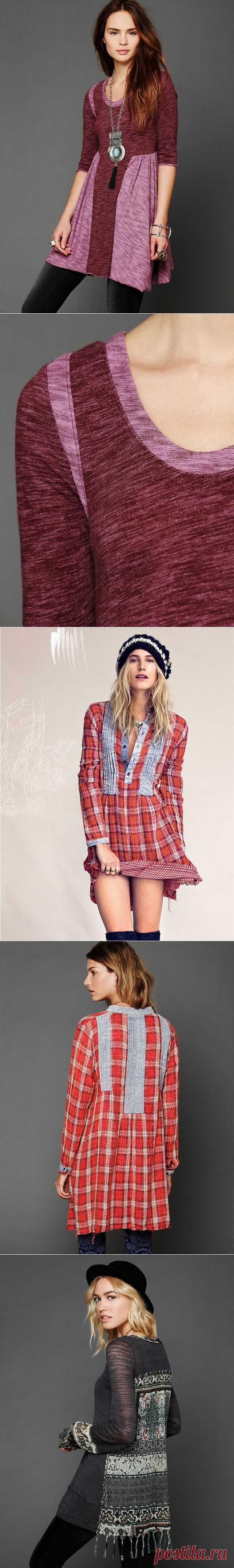 Как увеличить размер платья (подборка идей) / Платья Diy /