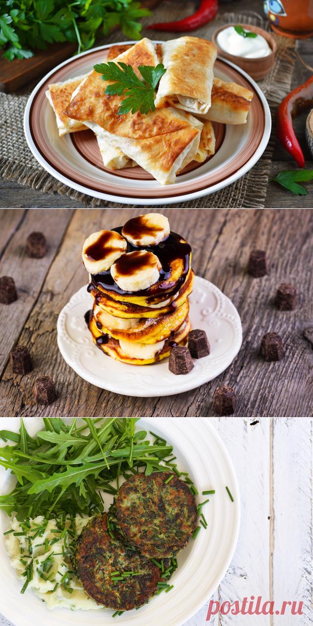 Завтрак в пост рецепты с фото простые время шло