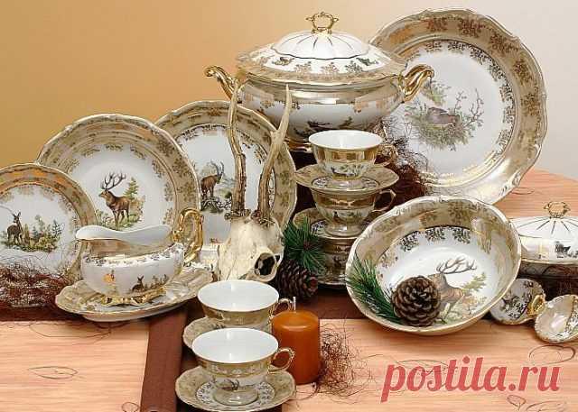 Немецкая красивая посуда из фарфора, Германия - Я-коллекционер