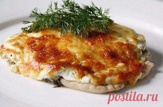 Отбивные из куриного филе в духовке с помидорами. Этому рецепту нет равных - pro100retepti.ru