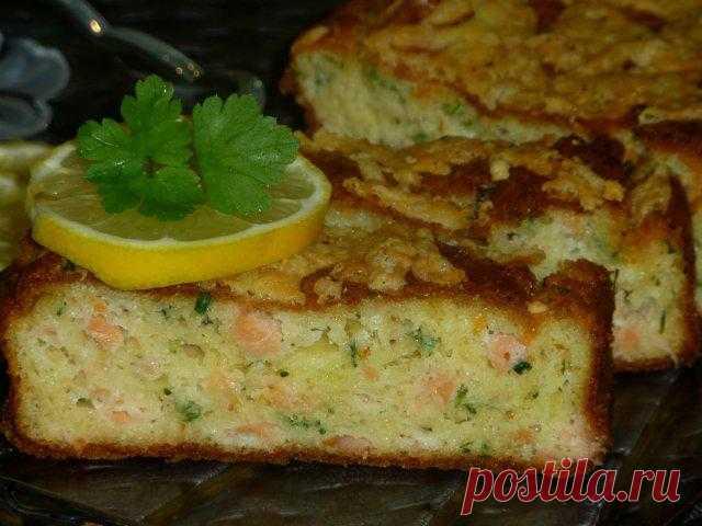 Рыбный кекс «Нежный ломтик»