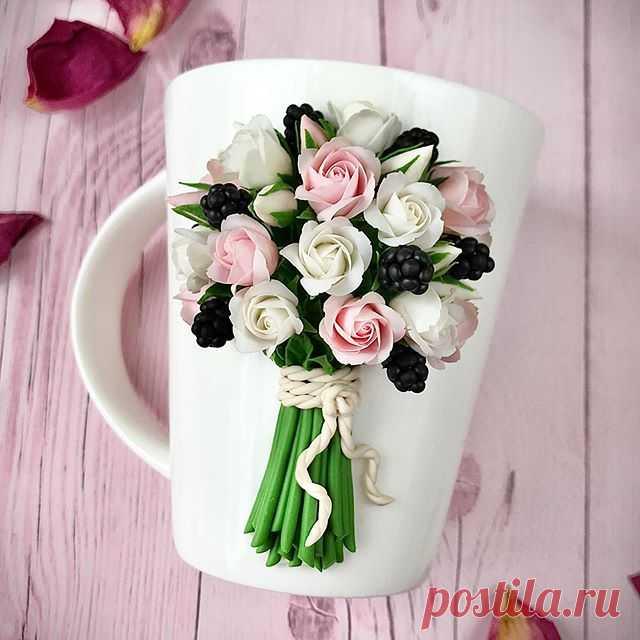 Photo by Полимерная Глина#Обучение in Розы. На изображении может находиться: цветок
