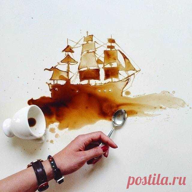 Потрясающие работы, созданные из подручного материала   Уроки рисования с Тессой Арт   Яндекс Дзен